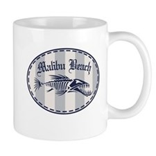 Malibu Bonefish Badge Mug