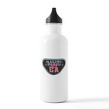Malibu Boardwalk Badge Water Bottle