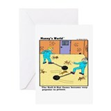 Funny Policeman Greeting Card
