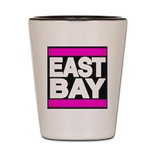 east bay pink Shot Glass