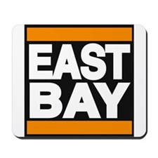 east bay orange Mousepad