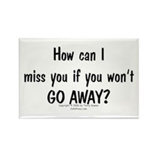 Can Miss You? Rectangle Magnet (100 pack)