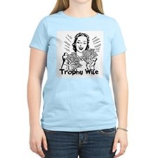 Trophy Wife Women's Pink T-Shirt