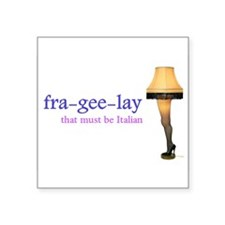 A Christmas Story - fra-gee-lay Sticker