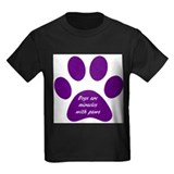 purple dogs are miracles T-Shirt