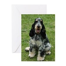 Young ENGLISH COCKER   Greeting Cards (Package of