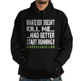 Better Start Running II - Black Hoody
