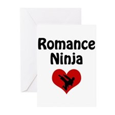 Romance Ninja Greeting Cards (Pk of 10)
