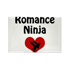 Romance Ninja Rectangle Magnet (10 pack)