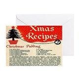 Christmas Pudding Cards (Pk of 20)