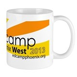 Edcamp Phoenix West 2013 Official Logo Small Mug