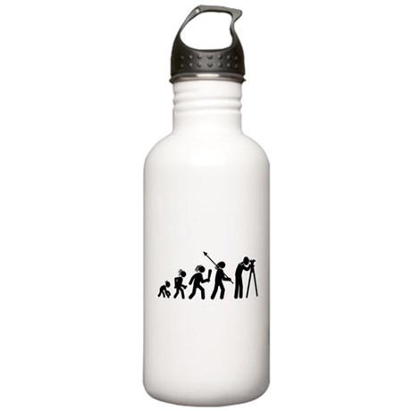 Land Surveying Stainless Water Bottle 1.0L