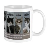 The Cat Pack Mug
