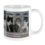 The Cat Pack Small Mugs