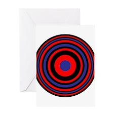 Bulls Eye Greeting Card