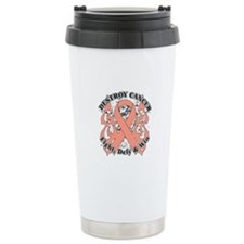 Destroy Uterine Cancer Travel Mug