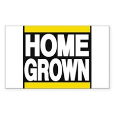 homegrown yellow Decal