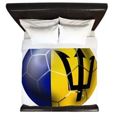 Barbados Football King Duvet