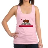 California Republic Shirt Racerback Tank Top