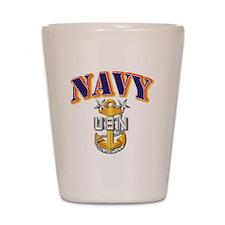 Navy - NAVY - MCPO Shot Glass