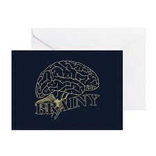 Brainy Greeting Cards (Pk of 20)