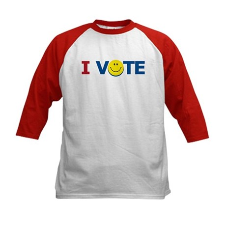 I VOTE: Kids Baseball Jersey
