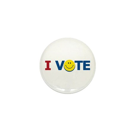 I VOTE: Mini Button (100 pack)