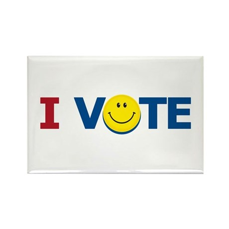 I VOTE: Rectangle Magnet (10 pack)