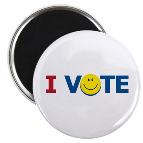 "I VOTE: 2.25"" Magnet (10 pack)"