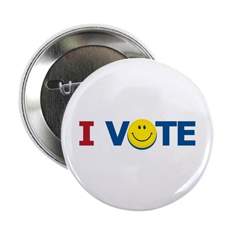 I VOTE: Button