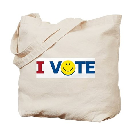 I VOTE: Tote Bag