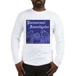Haunted Mansion Paranormal Investigator Long Slv T
