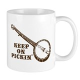 Banjo Keep on Pickin' Small Mug