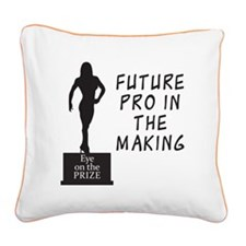 futureProV2.jpg Square Canvas Pillow