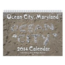 2013 Ocean City Maryland Wall Calendar