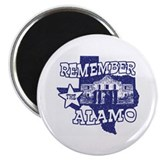 Texas Remember the Alamo Magnet