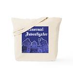 Haunted Mansion Paranormal Investigator Tote Bag