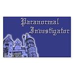 Haunted Mansion Paranormal Investigator Sticker (R