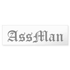 AssMan Bumper Sticker