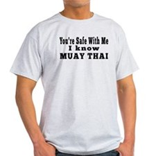 I Know Muay Thai T-Shirt