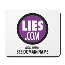Lies.com Mousepad