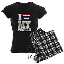 I Heart (Love) My Thai People pajamas