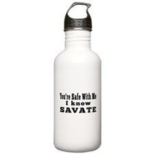 I Know Savate Water Bottle