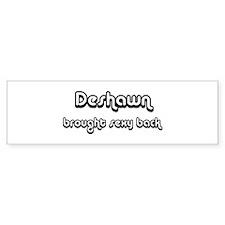 Sexy: Deshawn Bumper Bumper Sticker