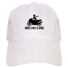 Ride Like A Girl Baseball Cap