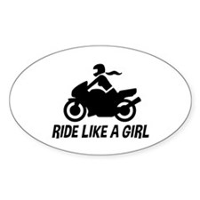 Ride Like A Girl Decal