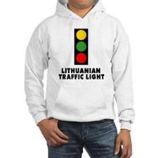 Lithuanian Traffic Light Hoodie