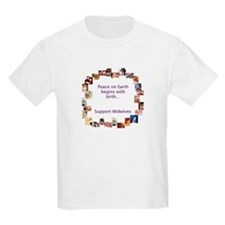 """Peace on Earth"" Kids T-Shirt"