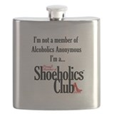 Shoeholic Flask