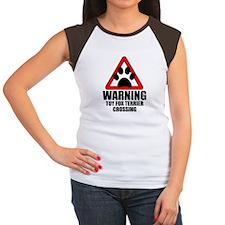 Toy Fox Terrier Warning T-Shirt